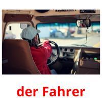 der Fahrer picture flashcards