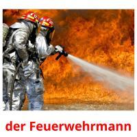 der Feuerwehrmann picture flashcards