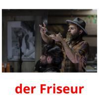 der Friseur picture flashcards