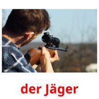 der Jäger picture flashcards