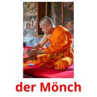 der Mönch picture flashcards