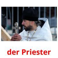 der Priester picture flashcards