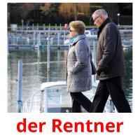 der Rentner picture flashcards