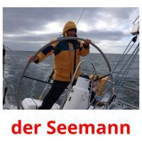 der Seemann picture flashcards