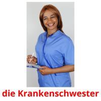 die Krankenschwester picture flashcards