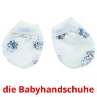 die Babyhandschuhe picture flashcards