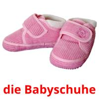 die Babyschuhe picture flashcards