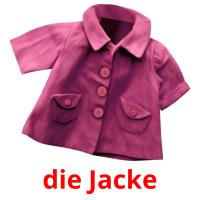 die Jacke picture flashcards
