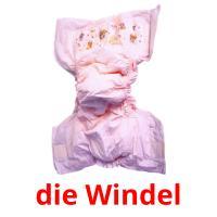 die Windel picture flashcards