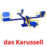 das Karussell picture flashcards
