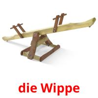 die Wippe picture flashcards