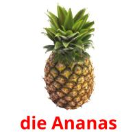die Ananas picture flashcards