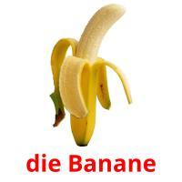 die Banane picture flashcards
