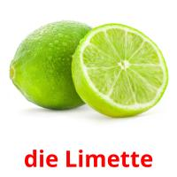 die Limette picture flashcards