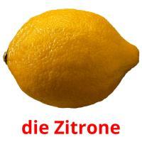 die Zitrone picture flashcards