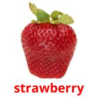 strawberry picture flashcards
