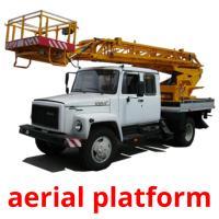 aerial platform picture flashcards