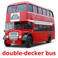 double-decker bus card for translate