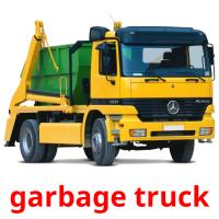 garbage truck card for translate