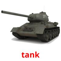 tank picture flashcards