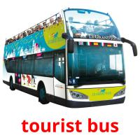 tourist bus picture flashcards