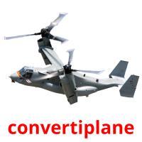 convertiplane picture flashcards