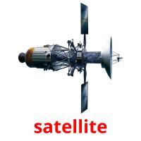 satellite picture flashcards
