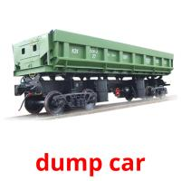 dump car picture flashcards