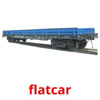 flatcar picture flashcards