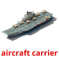 aircraft carrier picture flashcards