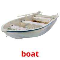 boat picture flashcards