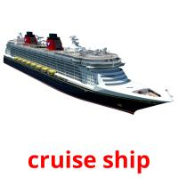 cruise ship picture flashcards