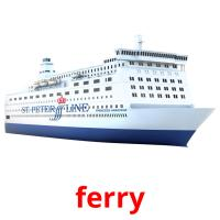 ferry picture flashcards