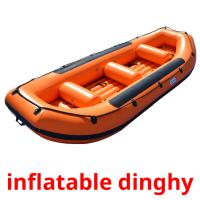 inflatable dinghy picture flashcards