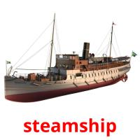 steamship picture flashcards