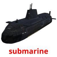 submarine picture flashcards