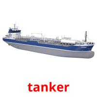 tanker picture flashcards