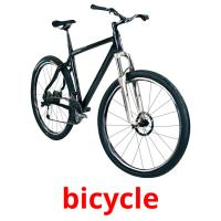 bicycle picture flashcards
