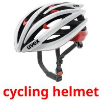 cycling helmet picture flashcards