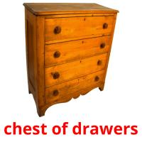 chest of drawers picture flashcards