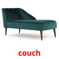 couch picture flashcards