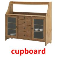 cupboard picture flashcards