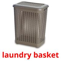 laundry basket picture flashcards