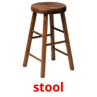 stool picture flashcards