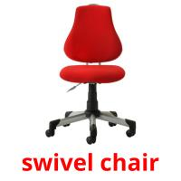 swivel chair picture flashcards