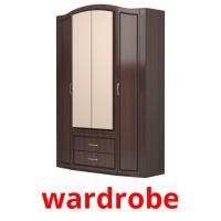 wardrobe picture flashcards