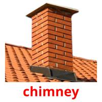 chimney picture flashcards