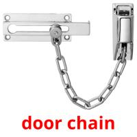 door chain card for translate