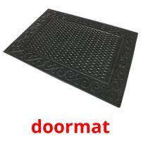 doormat picture flashcards