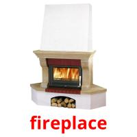 fireplace picture flashcards